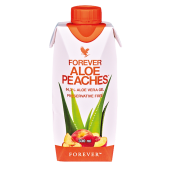 ALOE PEACHES 330ML